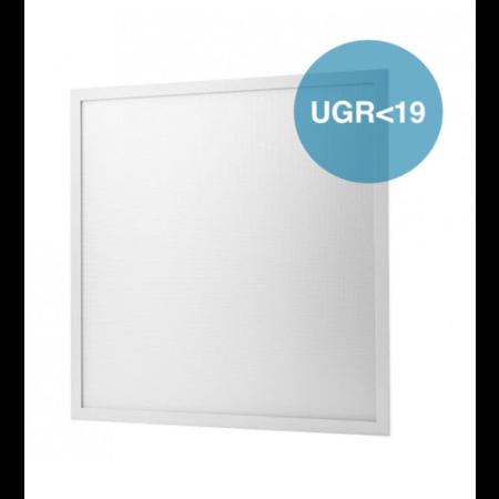 60x60cm LED PANEEL 6000K 40W 4000lm - UGR<19 Flikkervrij licht - Dimbaar optioneel - 5 jaar garantie