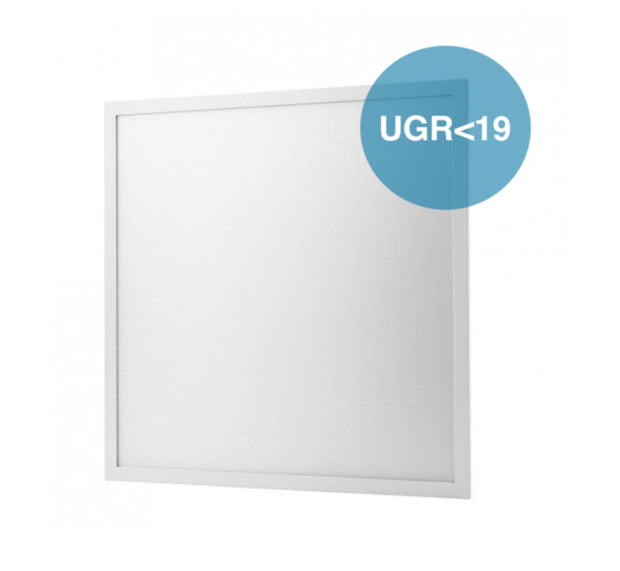 LED Paneel 60x60 UGR<19 - 40W 4000lm - 6000K 865 - Flikkervrij - 5 jaar garantie
