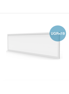 LED Paneel 120x30 UGR<19 - 40W 4000lm - 3000K 830 - Flikkervrij - 5 jaar garantie