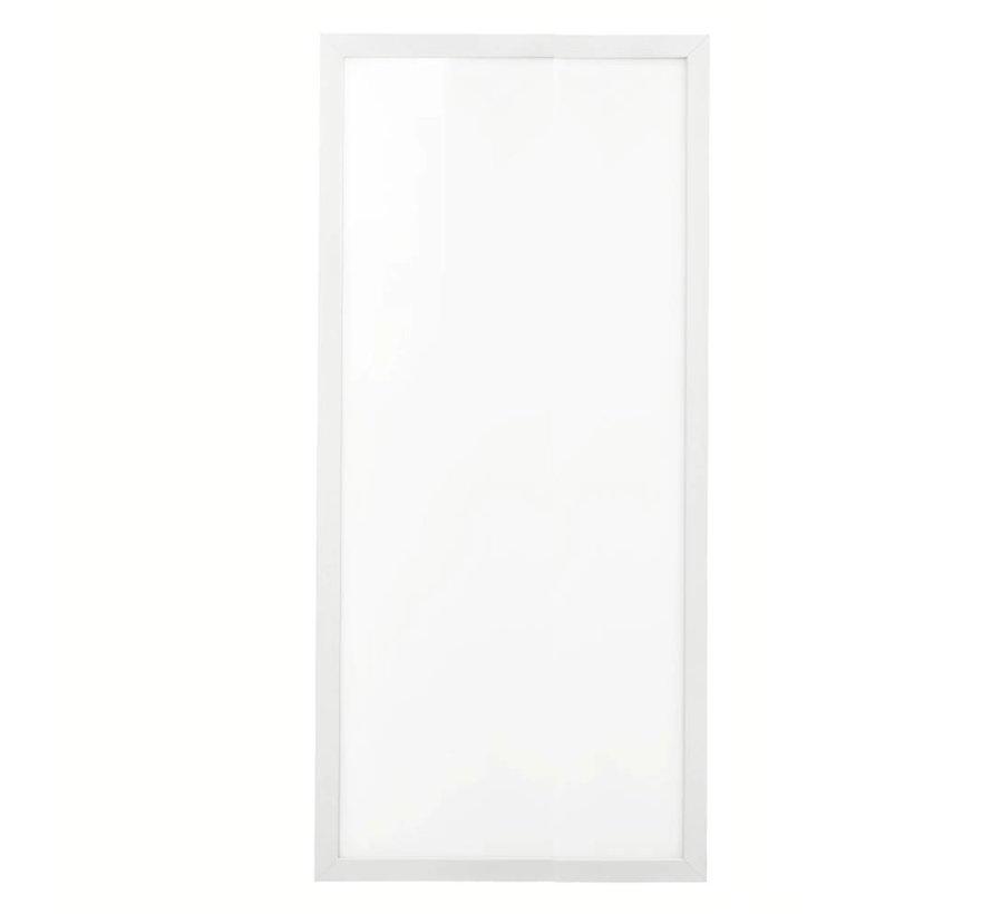 120x60cm LED PANEEL 3000K 60W 5400lm - 5 jaar garantie