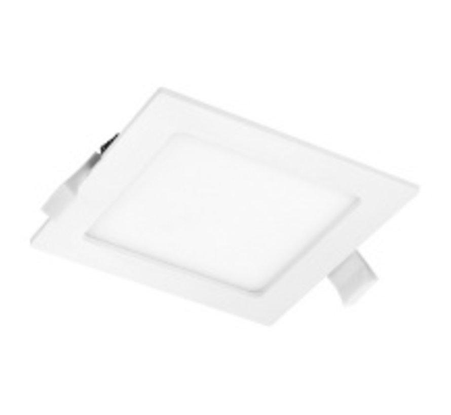 LED Inbouwspot Vierkant - Lichtkleur optioneel - 12W vervangt 40W - Inbouwmaat 150x150mm
