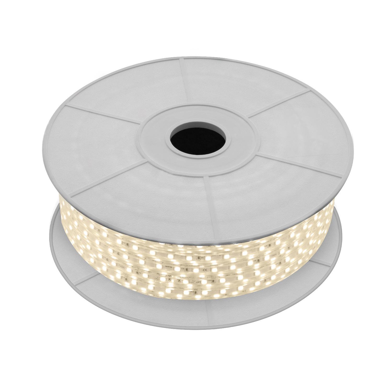 LED strip 50 meter 300W - Lichtkleur optioneel - IP65 direct 230V - 120 LED's p/m
