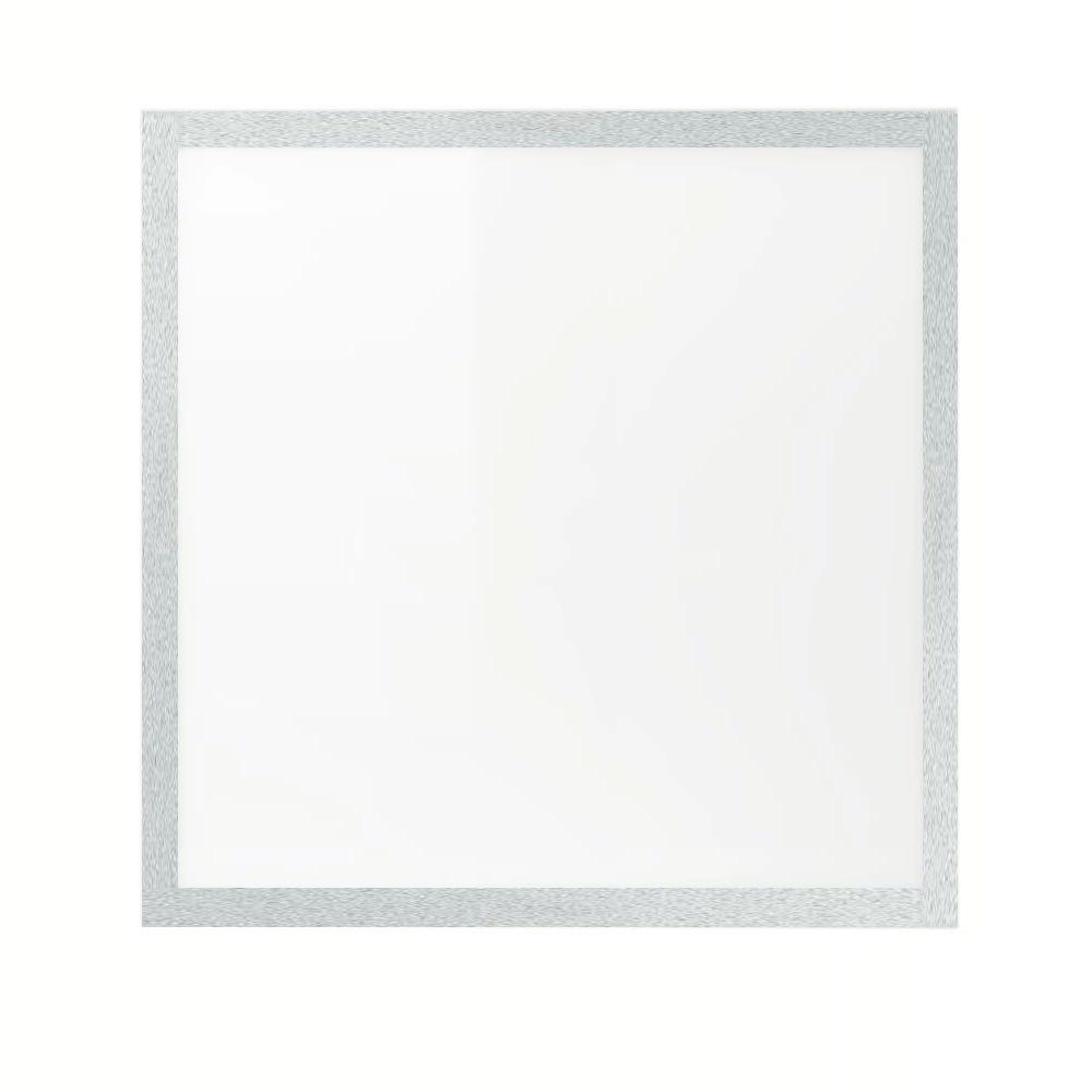 60x60cm LED PANEEL - Zilveren rand - 4000K 40W 3600lm - Dimbaar optioneel - Flikkervrij licht - 5 jaar garantie