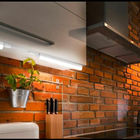 LED keukenverlichting - T5 90cm compleet armatuur 10W- Lichtkleur optioneel