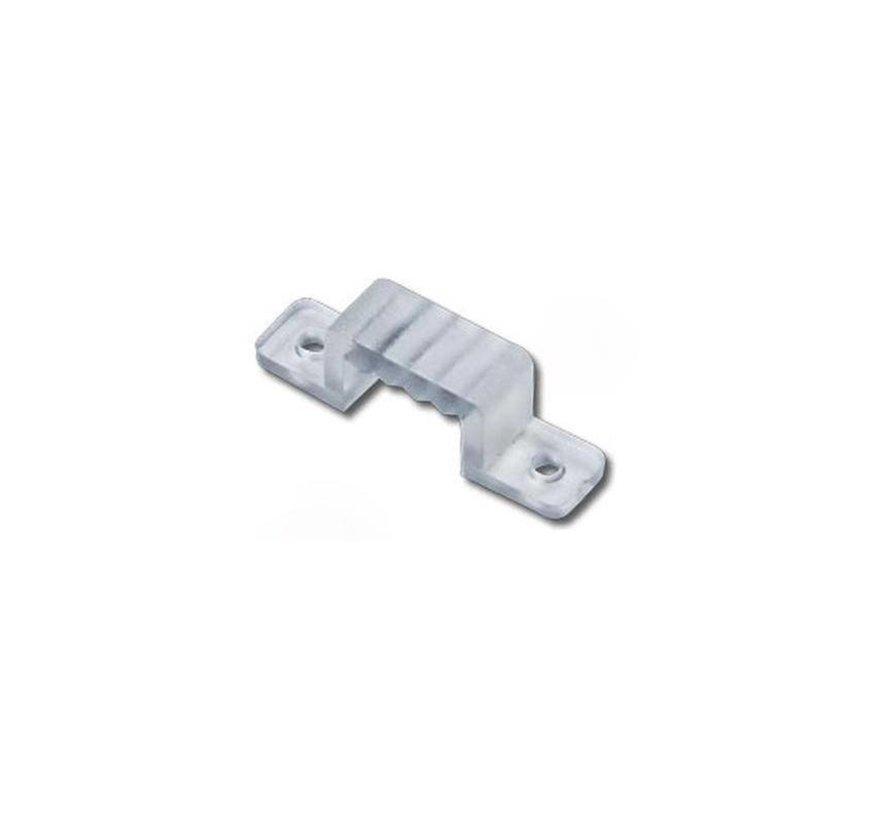 LED lichtslang plastic montageklemmen per 10 stuks