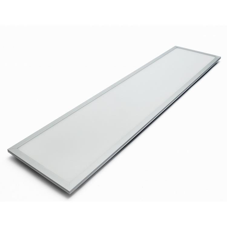 120x30cm LED PANEEL - Zilver omranding - 6000K 40W 3600lm - Dimbaar optioneel - Flikkervrij licht - 5 jaar garantie