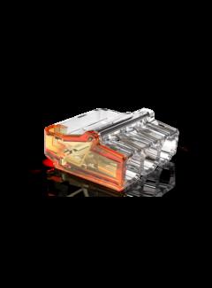50 stuks Conex Lasklem mini - 3 voudig 0.5-2.5mm² - voor massief draad
