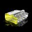50 stuks Conex Lasklem mini - 4 voudig 0.5-2.5mm² - voor massief draad