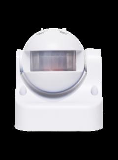 LED Bewegingssensor - Wit -  OPBOUW 180° - PIR INFRAROOD BEWEGINGSMELDER - 230V MAX.