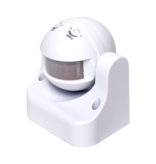 LED Bewegingssensor - Wit -  Opbouw 180° - PIR INFRAROOD BEWEGINGSMELDER - 230V MAX
