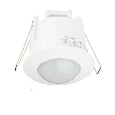 LED inbouwbewegingssensor 240° - PIR Infrarood bewegingsmelder - MAX. 300W -  230V Aansluiting