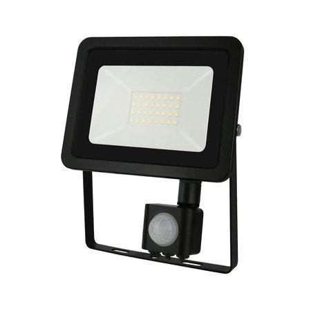 LED schijnwerper met sensor - 30W IP44 - Lichtkleur optioneel - 3 jaar garantie