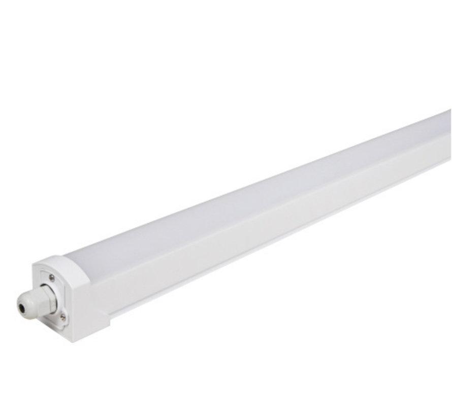 LED ECO Armatuur 150cm - 50W 100lm p/w - 6000K 865 Lichtkleur - IP65 Spatwaterdicht