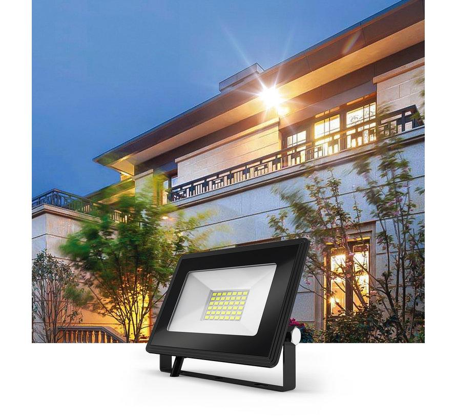 LED Floodlight - 20W vervangt 180W - Lichtkleur optioneel - 3 jaar garantie