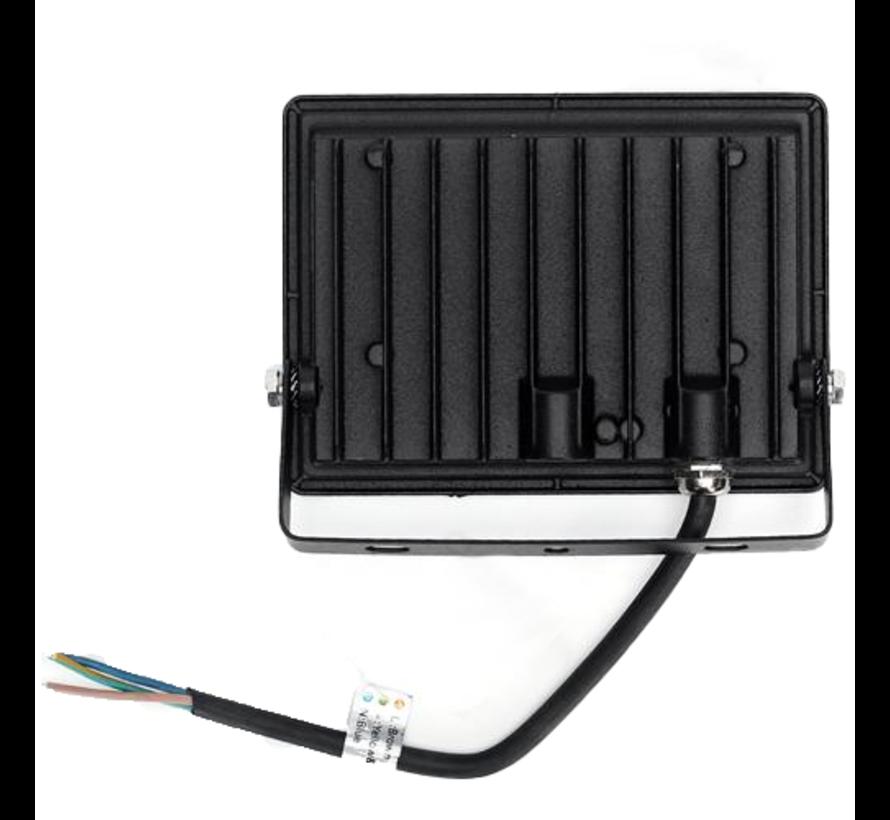 LED Floodlight - 30W vervangt 270W - Lichtkleur optioneel - 3 jaar garantie