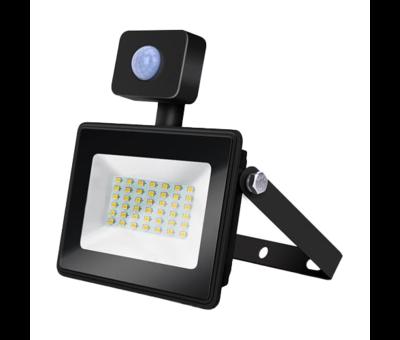 LED Floodlight - met bewegingssensor - 50W vervangt 450W - Lichtkleur optioneel - 3 jaar garantie