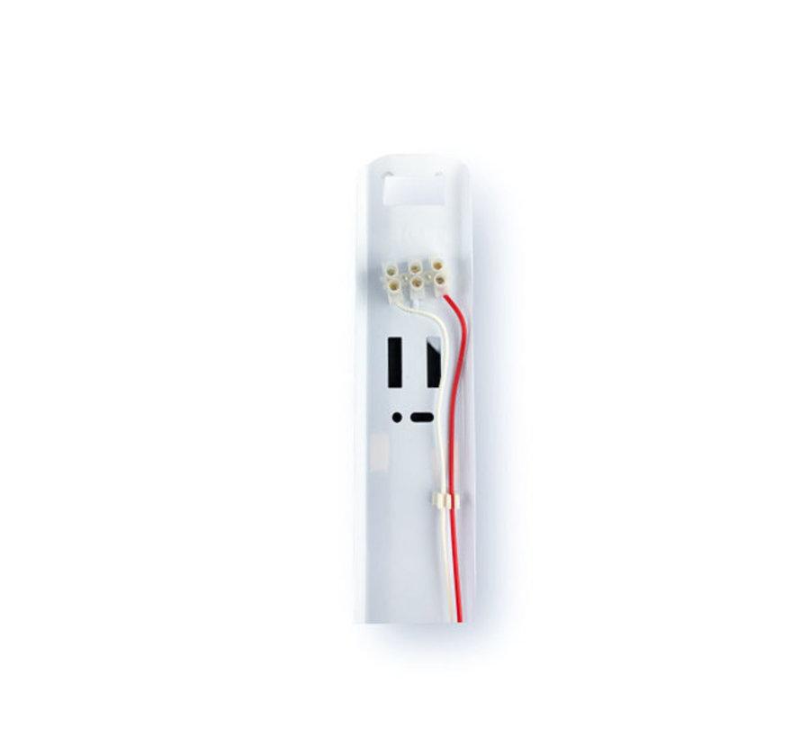 LED TL buis armatuur - 60cm - Waterdicht IP65 - voor enkele LED TL buis