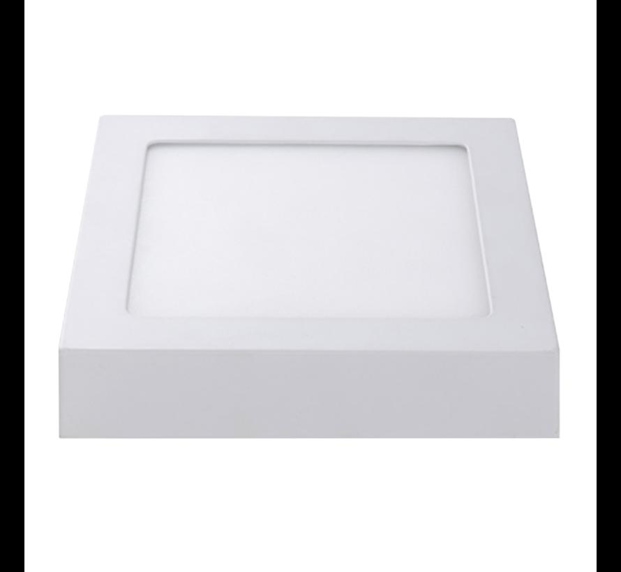 LED paneel opbouw vierkant - 12W vervangt 80W - Lichtkleur optioneel  - 172x172x34mm