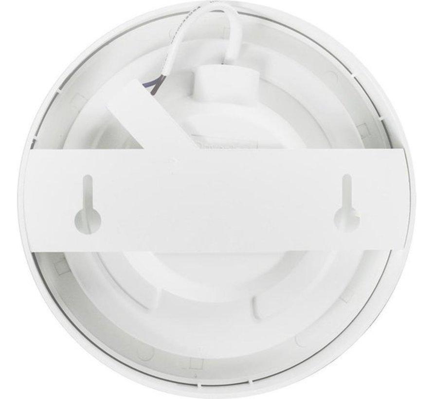 LED paneel opbouw rond - 12W vervangt 100W - Lichtkleur optioneel - 177x34mm