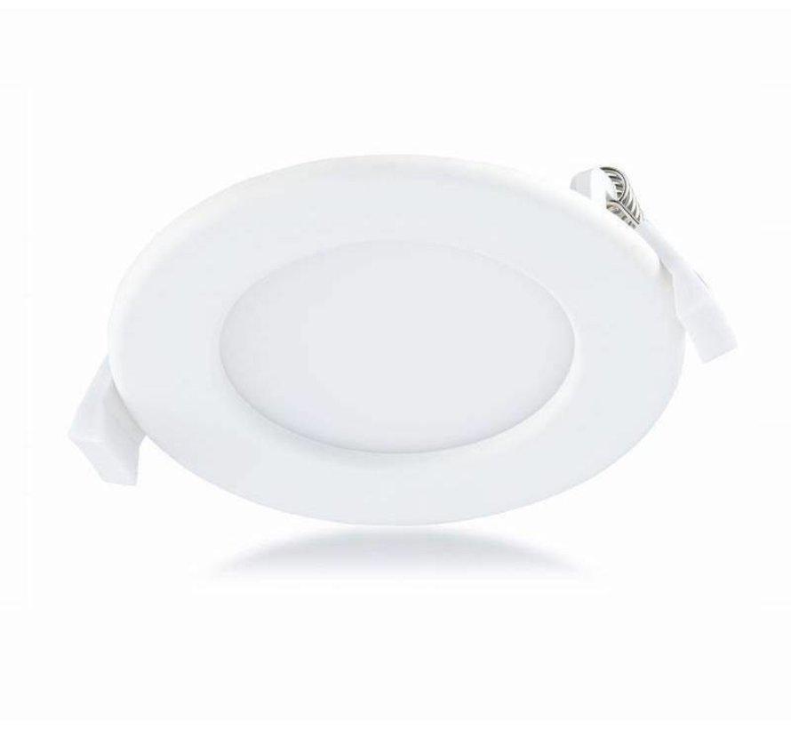 LED Inbouwspot Rond - 3000K warm wit licht - 20W vervangt 160W - Inbouwmaat 220x32mm