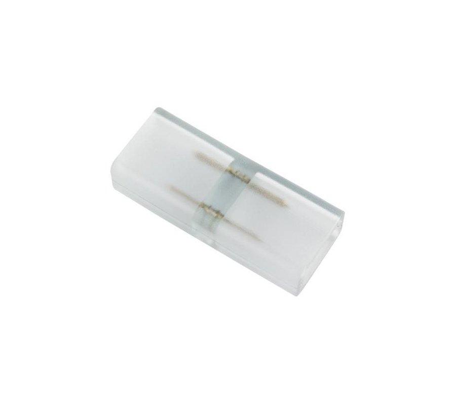 LED lichtslang twee pins connector aansluiting  plastic