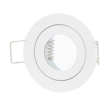 LED Inbouwspot rond - IP44 - Zwart - GU11/MR11 - Zaagmaat 40mm - Buitenmaat 55mm