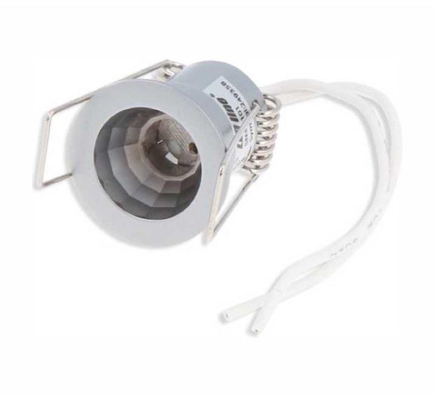 Inbouwspot rond - Grijs - G4 - zaagmaat 29mm - buitenmaat 31mm