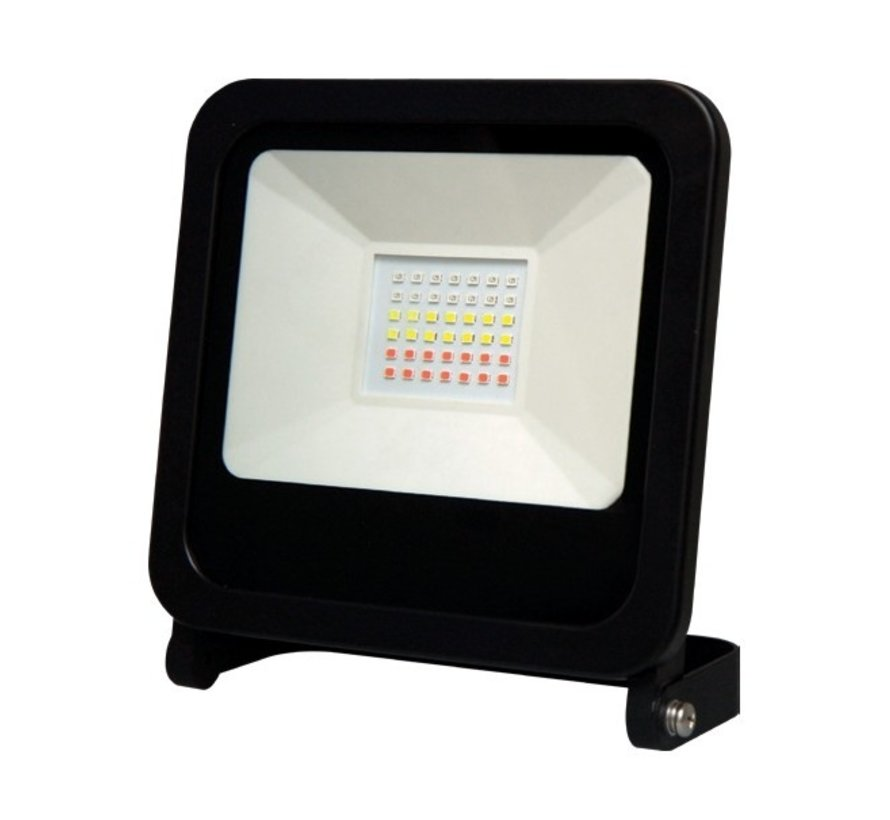 RGB LED Floodlight 50W - IP65 spatwaterdicht - Bediening via Tuya app