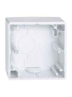 Opbouwdoos universeel wit - geschikt voor LED inbouwdimmer