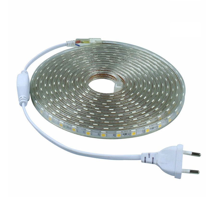 LED Lichtslang plat - Kleur licht optioneel - 10 meter - Plug and Play