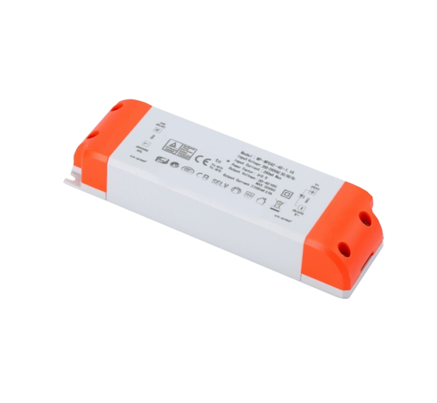 Dimbare LED driver - Triac / fase aansnijding - voor 25W LED paneel