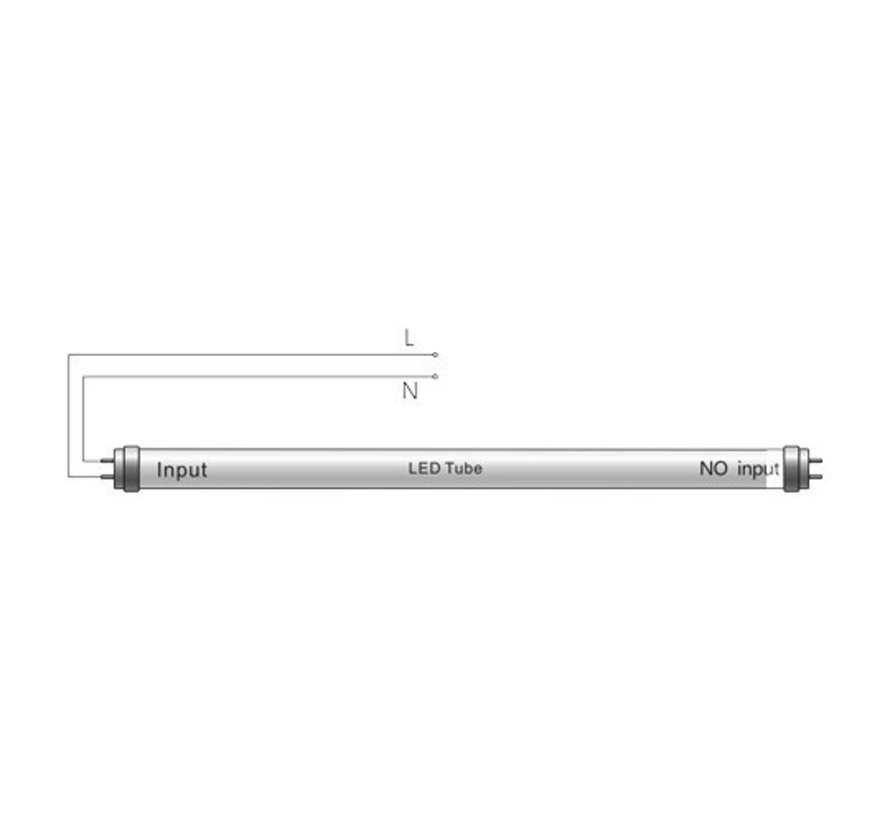 LED TL buis 120cm 6000K (865) 18W vervangt 36W - Lichtsterkte optioneel