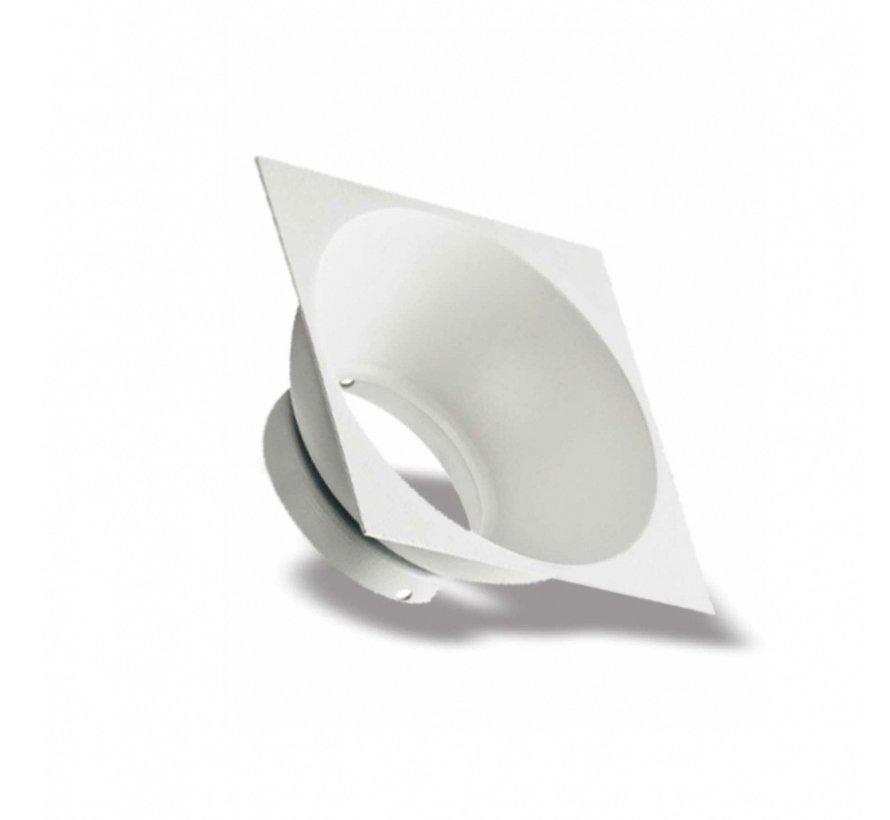 LED Plafondspot - Mat Zwart Aluminium - Cube - GU10 fitting