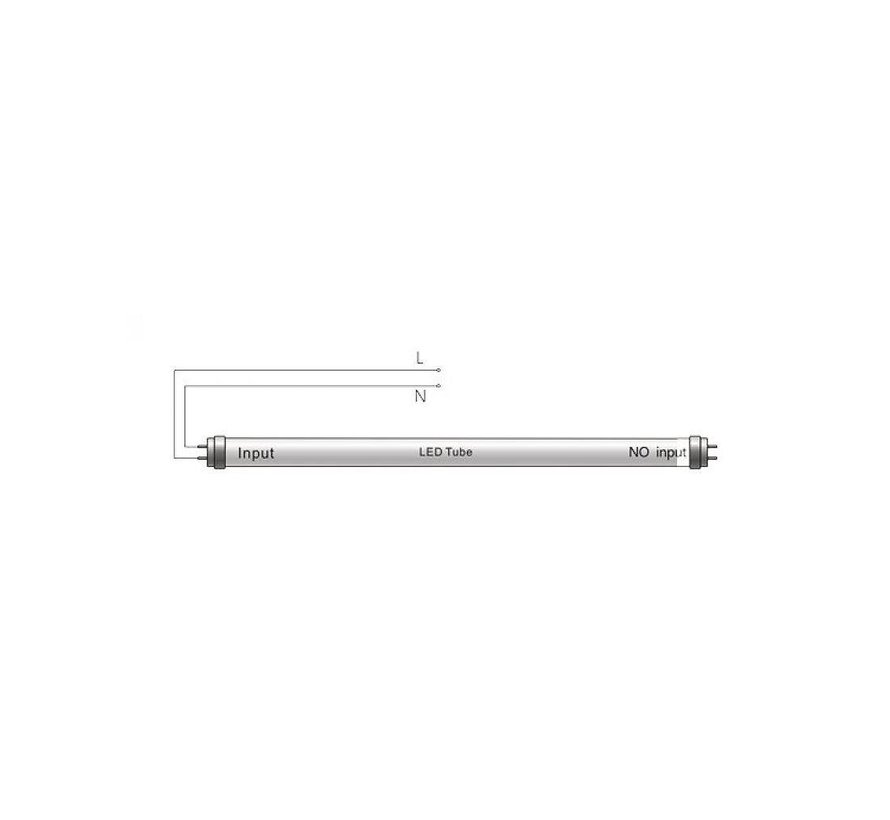 LED TL buis 60cm 6000K (865) 10W - Lichtsterkte optioneel