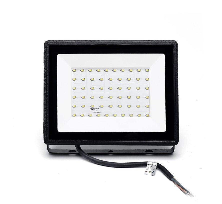 LED Floodlight - 50W vervangt 450W - Lichtkleur optioneel - 3 jaar garantie