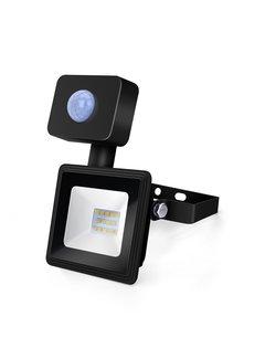 LED Floodlight met bewegingssensor - 10W vervangt 90W - Lichtkleur optioneel - 3 jaar garantie