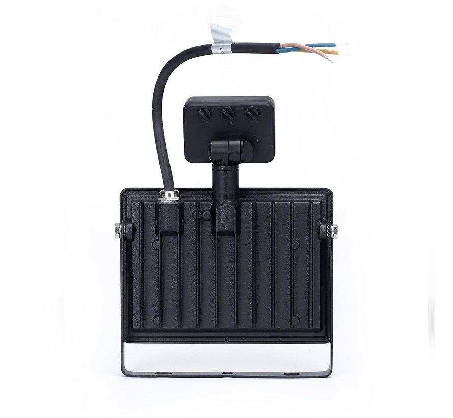 LED Floodlight met bewegingssensor - 30W vervangt 270W - Lichtkleur optioneel - 3 jaar garantie