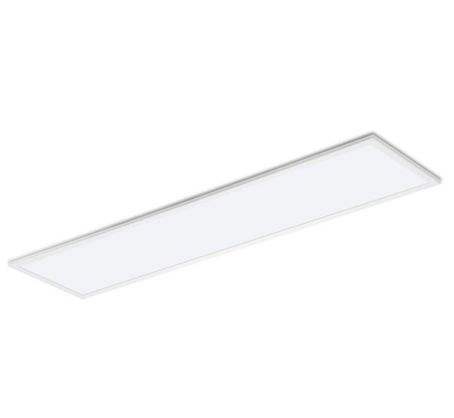 LED Paneel 120x30 32W 4000K 120 lumen p/w - 5 jaar garantie - Flikkervrij incl. 1.5m aansluitstekker