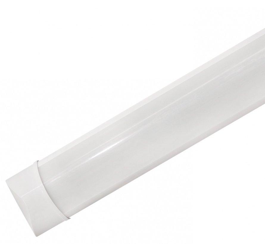 LED Batten - 60cm 18W LED armatuur - 4000K 840 warm wit licht - compleet incl. bevestigingsmateriaal