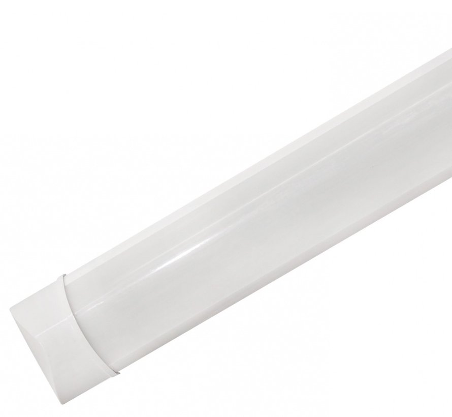 LED Batten - 60cm 18W LED armatuur - 6000K 865 koud wit licht - compleet incl. bevestigingsmateriaal
