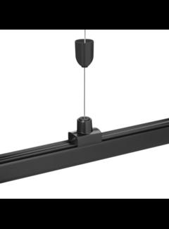LED Spot Rail ophang systeem - 1 x 8 meter stalen draad incl. bevestigingsmateriaal