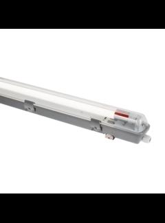 LED TL buis armatuur - 120cm - Waterdicht IP65 - voor enkel LED TL buis