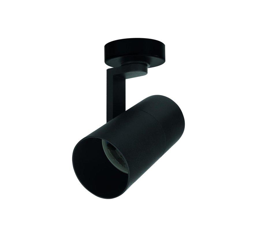 LED plafondspot Zwart - met GU10 fitting