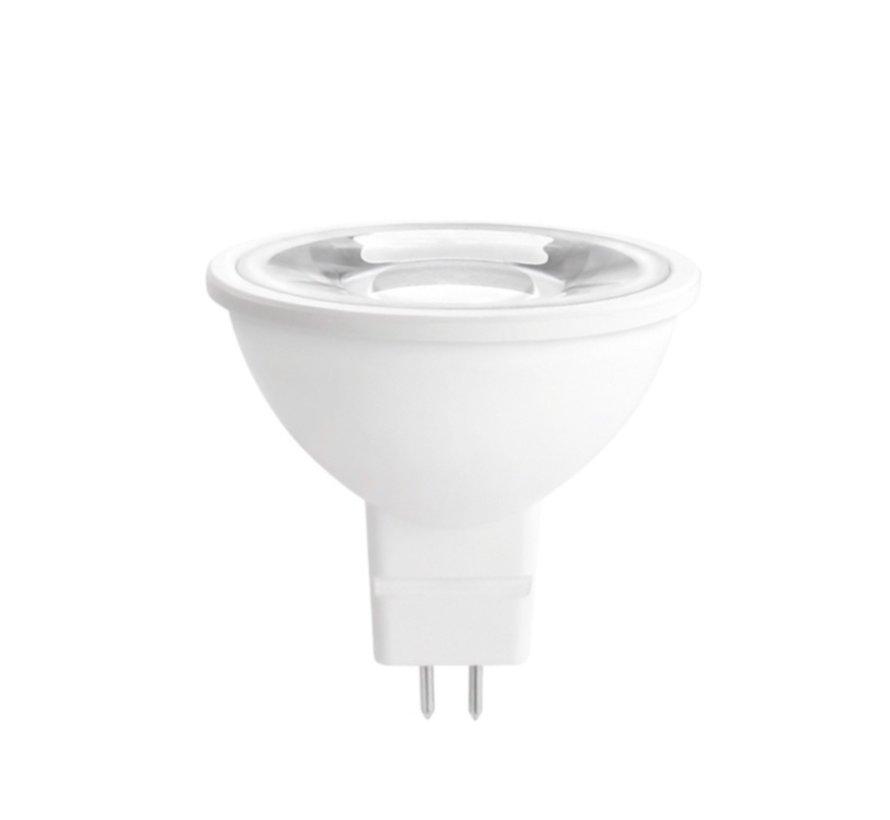 LED GU5.3 - MR16 LED 38° Lichtspreiding - 4W vervangt 35W - 6000K daglicht wit