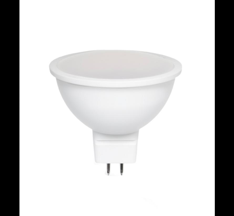 LED spot GU5.3 - MR16 LED - 6W vervangt 40W - 6000K daglicht wit
