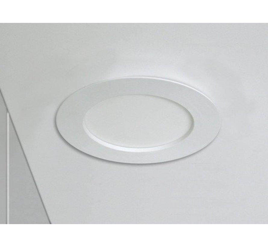 LED inbouwspot rond - 12W vervangt 100W - inbouwmaat 150x32mm - 6000K daglicht wit