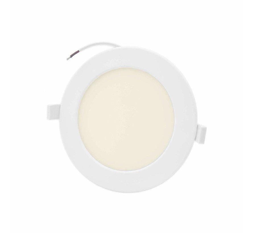 LED inbouwspot rond - 16W vervangt 110W - inbouwmaat 150x32mm - 3000K warm wit licht