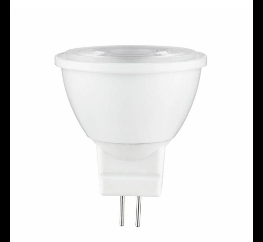LED spot GU4 - MR11 LED - 3W vervangt 25W - 2700K warm wit licht