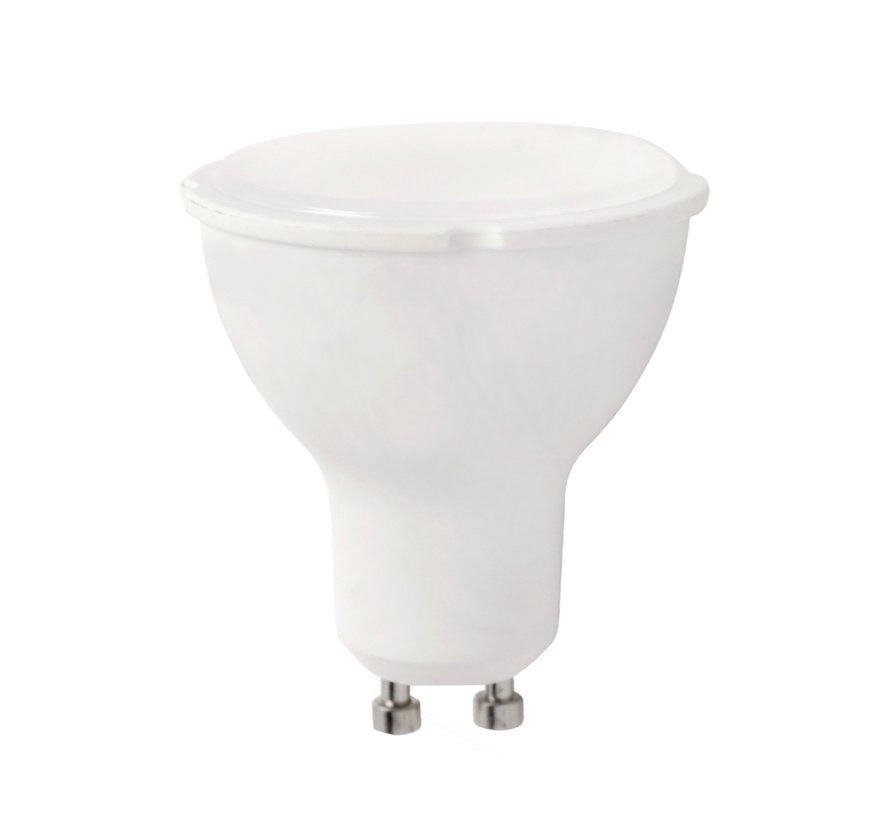 LED spot GU10 - 10W - 6000K daglicht wit - vervangt 86-100W
