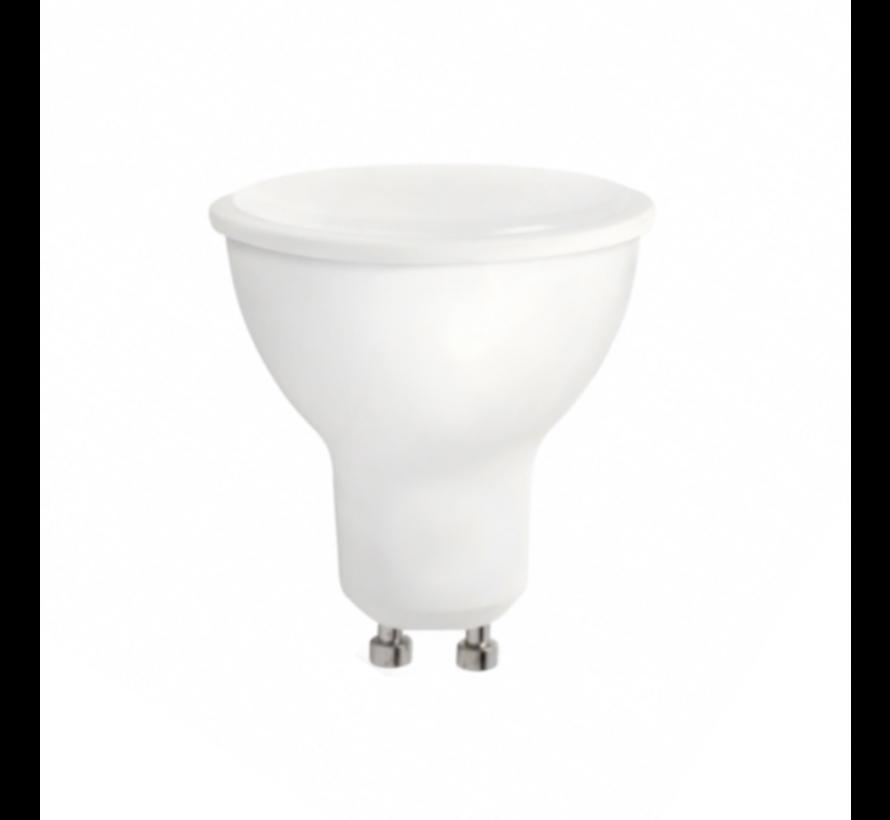 LED spot GU10 -  dimbaar - 6W vervangt 50W - 4000K helder wit